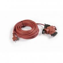 Prolongador goma roja 25m ip44 3x1,5 TAYG