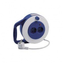 Extensible electrico 5mts 2 tomas 3x1+interruptor TAYG