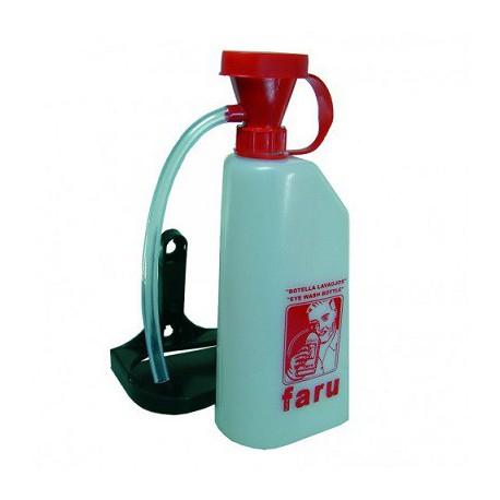 Lavaojos bote 0,6 litros portátil para agua potable  C511 FARU