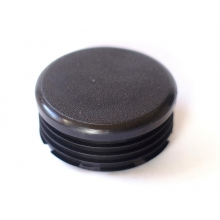 Contera redonda interior estriada 20-45 negro
