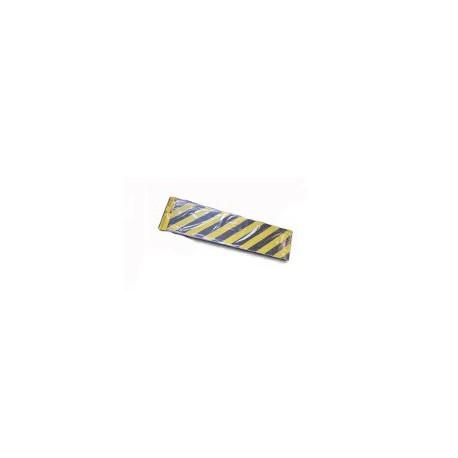 Tope parking 40x7x30 negro/amarillo ba41519 NORMALUZ
