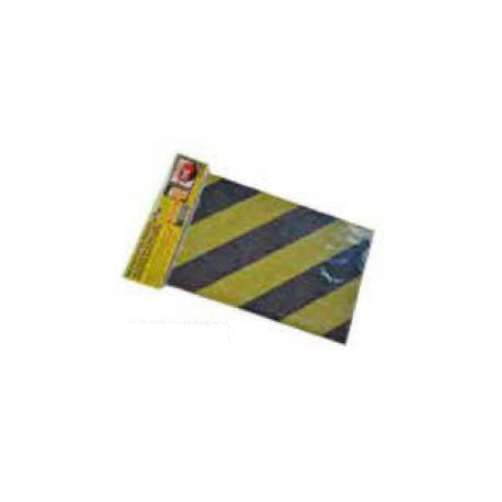 Protector frontal negro/amarillo 400x150x10mm NORMALUZ