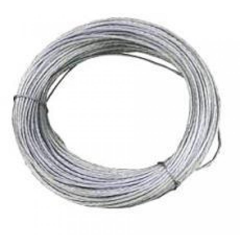 Cable acero galvanizado 6x7 1 4mm rollo 10m ferreter a for Cable de acero precio