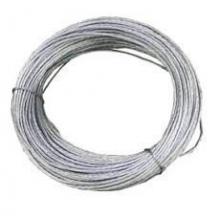 Cable acero galvanizado 6x7+1 5mm (rollo 25m)