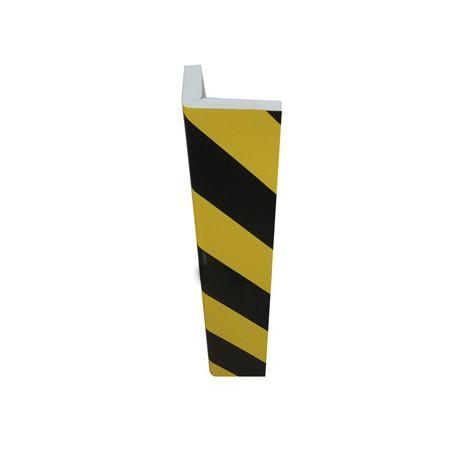 Protector negro amarillo 750x150mm PU7325NJ ASLAK