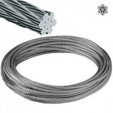 Cable acero inoxidable 7x7+0 6mm