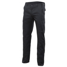Pantalon multibolsillos stretch 103002s-0 negro VELILLA