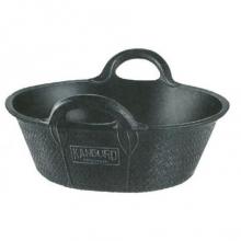 Espuerta goma negra nº2 11 litros 35x14cm KANGURO