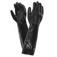 Guante quimico 09-928 neopreno t-10 (unica) negro ANSELL