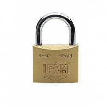 Candado laton K20 arco normal IFAM