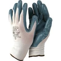 Guante 7287 t08 nylon/nitrilo gris STARTER