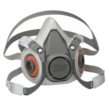 Mascara buconasal grande 6300 reutilizable sin filtros 3M