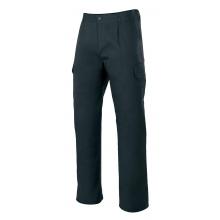 Pantalon stretch multibolsillos 103005S-0 negro VELILLA