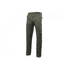 Pantalon stretch multibolsillos 103005S-3 verde caza VELILLA