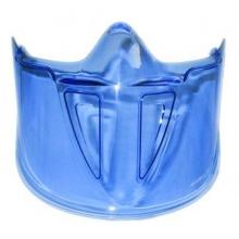 Visor facial PC azul para gafa Blast BOLLE