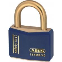 Candado Abus T84MB/40 inox azul ABUS