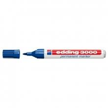 Rotulador 3000 permanente azul EDDING