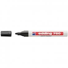 Rotulador negro 750 marcador de tinta opaca EDDING