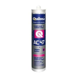 Masilla acrilica blanca sintex AC47 300ml QUILOSA