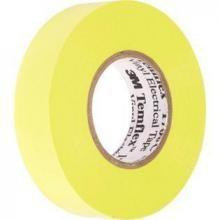 Cinta aislante pvc temflex 1300 amarilla 19mmx20m 3M