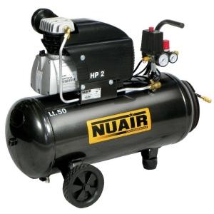 Compresor piston Nuair 2Hp 50L FC2/50 CM TECH AIRUM