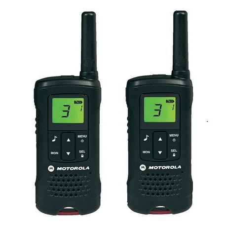 Par walkies TLKR-T60 8C 8km MOTOROLA