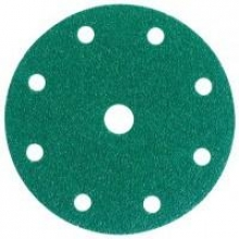 Disco Hookit 245 150mm 8+1 agujeros P40 verde (25 unidades) 3M