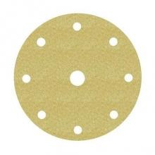 Disco Hookit 255P 150mm 8+1 agujeros P150 oro (25 unidades) 3M