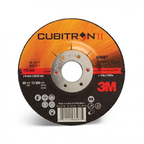 Disco corte/desbaste Cubitron II 230mmx4,2mm (10 unidades) 3M