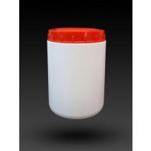 Envase de plastico 1/2l con 2 tapas para muestras DELTALAB