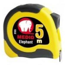 Flexometro Elephant Bimaterial 5mx19mm ABS+Elastollan MEDID