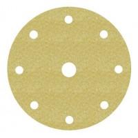 Disco Hookit 255P 150mm 8+1 agujeros P240 oro (25 unidades) 3M