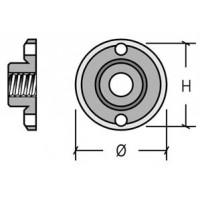 Tuerca disco muela para amoladoras M14 CODEA