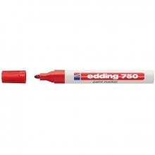 Rotulador ROJO 750 tinta opaca brillante EDDING