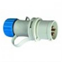 Clavija Cetac IP44 16A 2P+T 220V azul ASEIN