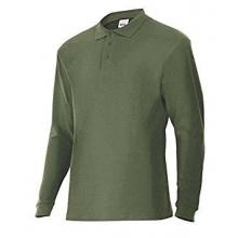 Polo manga larga 105503-3 verde caza VELILLA