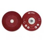 Plato soporte discos fibra 125mm rojo blando 3M