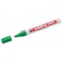 Rotulador verde 750 marcador de tinta opaca EDDING