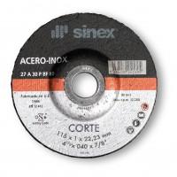 Disco corte hierro/inox 115x2.4 A-P SINEX