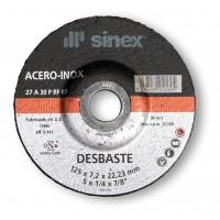 Disco desbaste 178x7 A-PSF inox SINEX