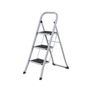 Escalera acero reforzada 3 peldaños ALMESA