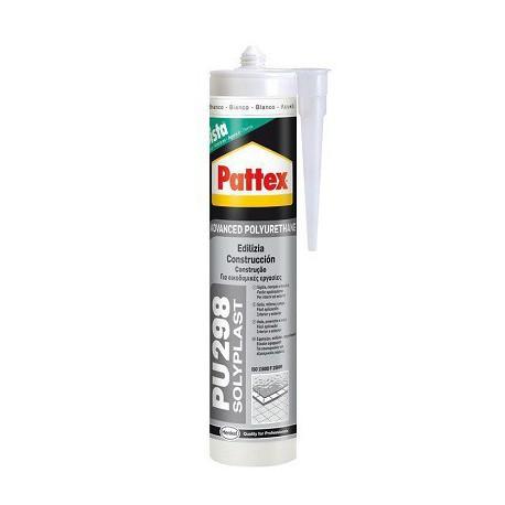 Silicona solyplast poliuretano negro 300ml PATTEX