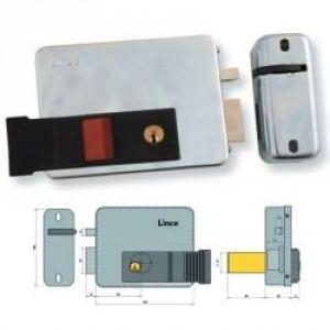Cerradura electrica multipunto llave boton 5160 d lince - Precio cerradura electrica ...