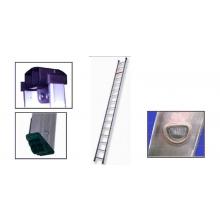 Escalera aluminio simple 16 peldaños 4,89 m SHERPA