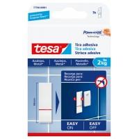 Tira adhesiva Powerstrip para azulejos hasta 2kg TESA