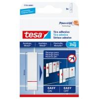 Tira adhesiva Powerstrip para azulejos hasta 3kg TESA