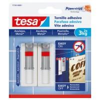 Tornillo adhesivo ajustable azulejos hasta 3kg TESA
