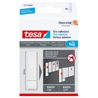 Tira adhesiva para paredes pintadas hasta 1kg TESA