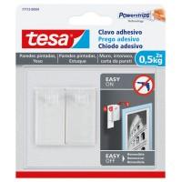 Clavo adhesivo para paredes pintadas hasta 0,5kg TESA
