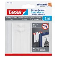Clavo adhesivo para paredes pintadas hasta 2kg TESA